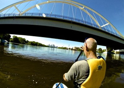 paddleboarding the river by paddleboarding by psycho suzies