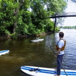 Metro TV News Paddleboarding Health and Wellness